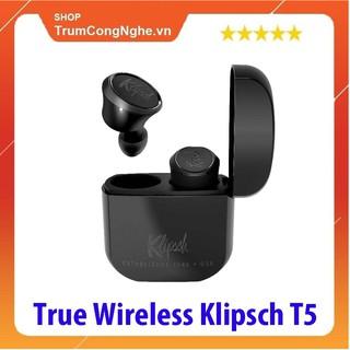[Mã ELMS4 giảm 7% đơn 500K] Tai nghe Klipsch T5 True Wireless Black ( Màu Đen )
