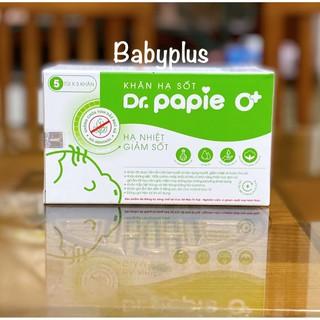 Khăn lau hạ sốt Dr. Papie cho bé từ 0M+ thumbnail