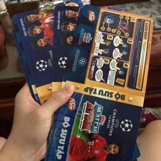 Album thẻ cầu thủ Poca Match Attax mùa giải 2019/2020