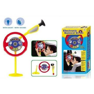 Simulation Of Children's Music Steering Wheel Toy Light Pilot Toy For Baby