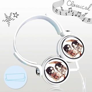 Tai nghe THIÊN QUAN TỨ PHÚC M02 thiết kế thông minh cá tính cắm dây có mic anime chibi