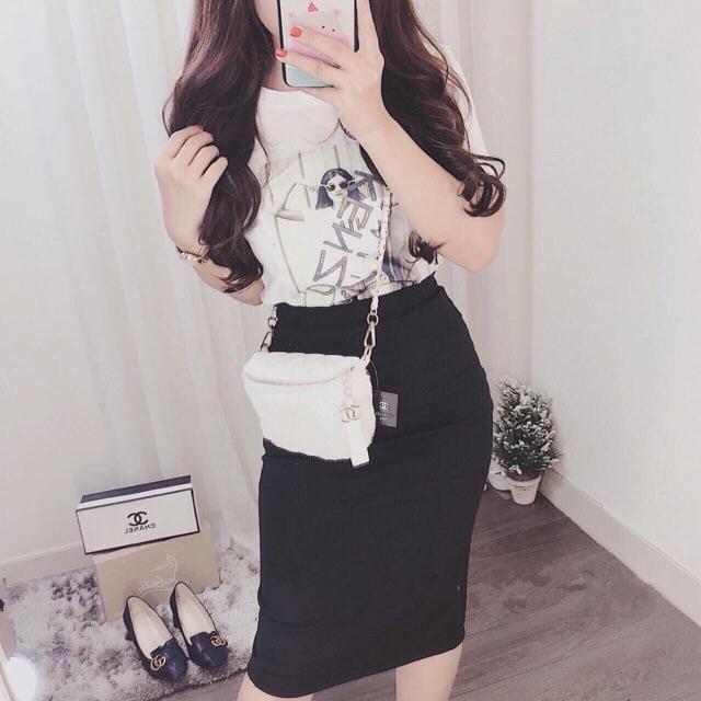 1006397732 - Set chân váy áo thun