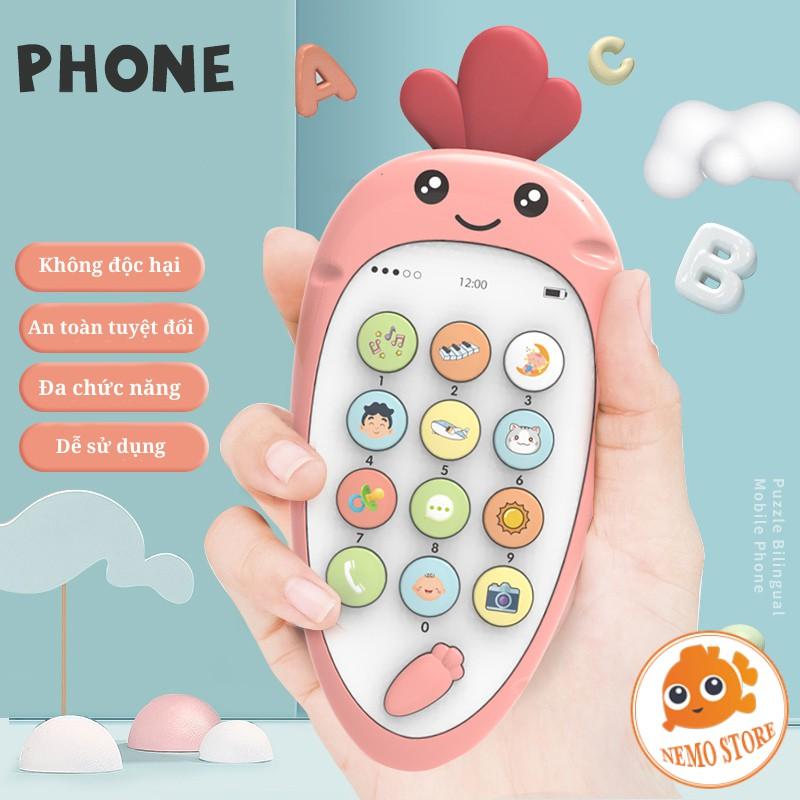 Điện thoại đồ chơi phát triển khả năng âm nhạc cho bé