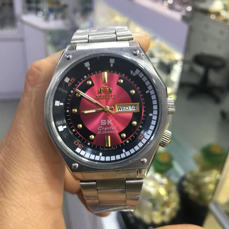 Đồng Hồ Nam sk Y469135A pin Japan dây mắt na