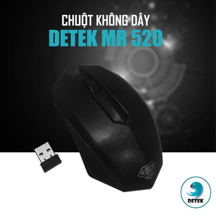 Chuột không dây thời trang Detek MR520