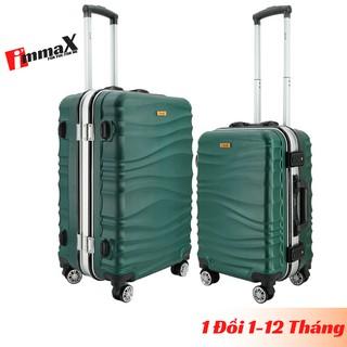 Bộ 2 vali nhựa cứng nắp gập size 20inch và 24inch immaX A17 bảo hành 2 năm, 1 đổi 1 trong 12 tháng thumbnail