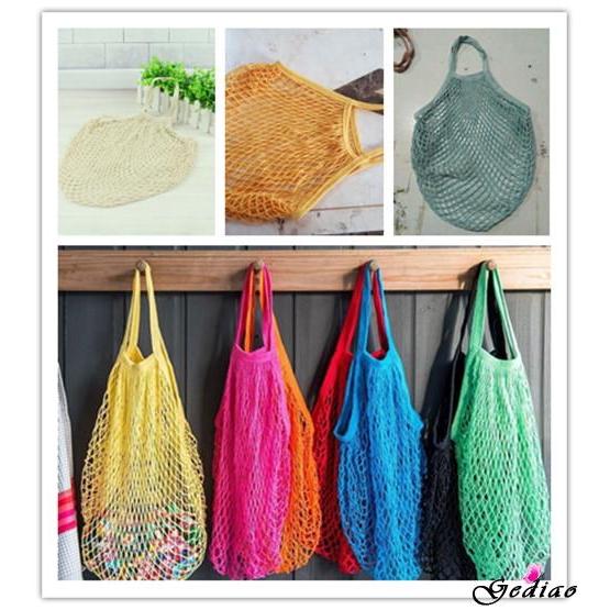 Túi lưới dệt đựng thực phẩm thân thiện với môi trường tiện dụng