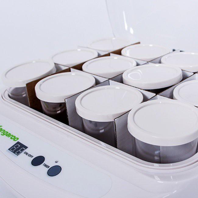 Máy làm sữa chua 12 cốc Kangaroo KG82
