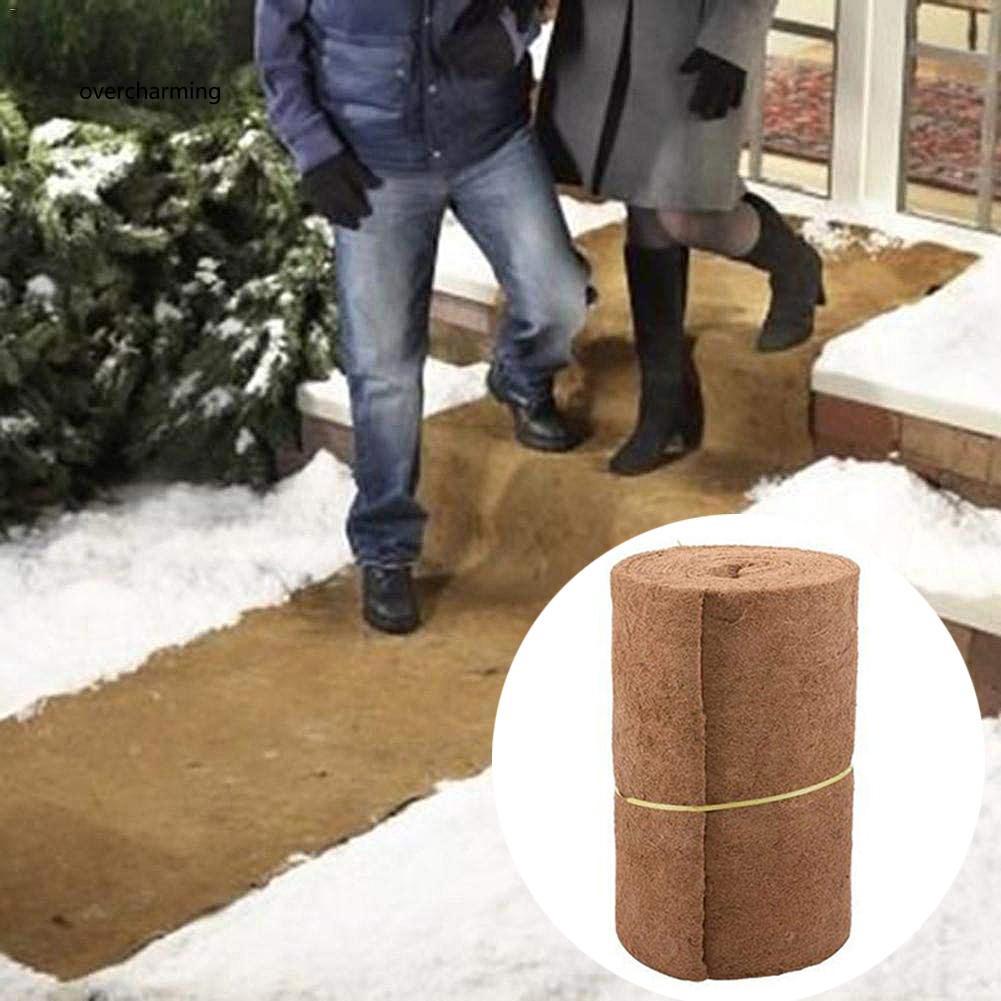 J_60cm Versatile Coco Liner Bulk Roll Mat Garden Plant Wall Hanging Basket Ha