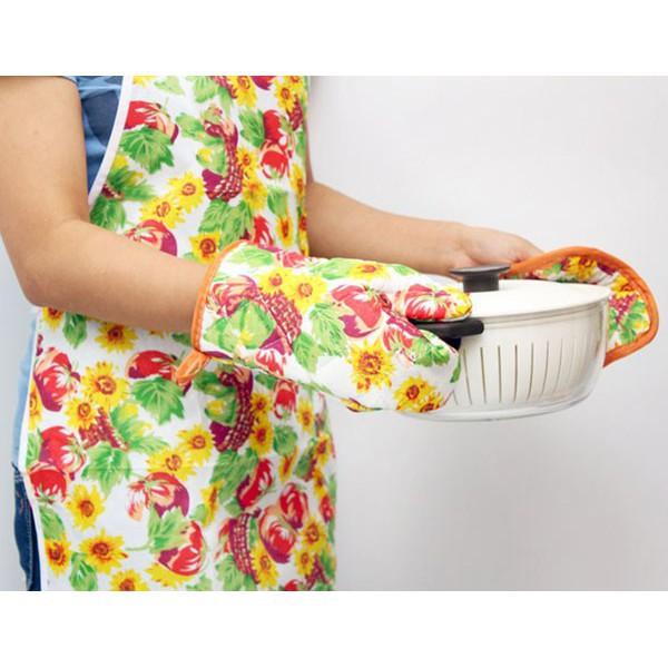[HÀ NỘI]  Bộ găng tay lót bếp – Găng tay bếp