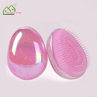Lược chải massage tóc hình quả trứng bằng nhựa chống tĩnh điện