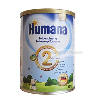 Sữa Humana Gold số 2 350g - Date t8 2020