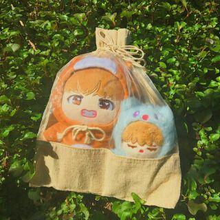 Túi đựng doll 20cm, 15cm