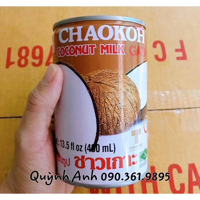 Nước cốt dừa Chaokoh 400ml