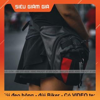 KHO SG- GIÁ RẺ - Loại túi đeo đùi dùng chạy xe máy tiện dụng - Túi đeo chéo đùi Biker RAMBO phiên bản mới thumbnail