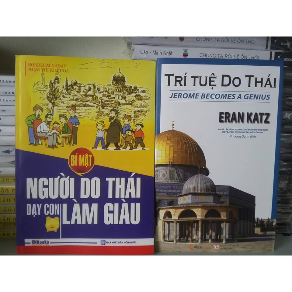 Sách - Combo 2 Cuốn: Trí Tuệ Do Thái + Người Do Thái Dạy Con Làm Giàu