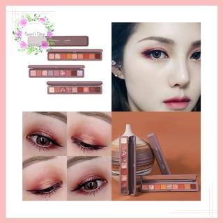Bảng Phấn Mắt FREESHIP Bảng Mắt Novo Dẹp 9 Ô Soft Eye Shadow Smooth Texture