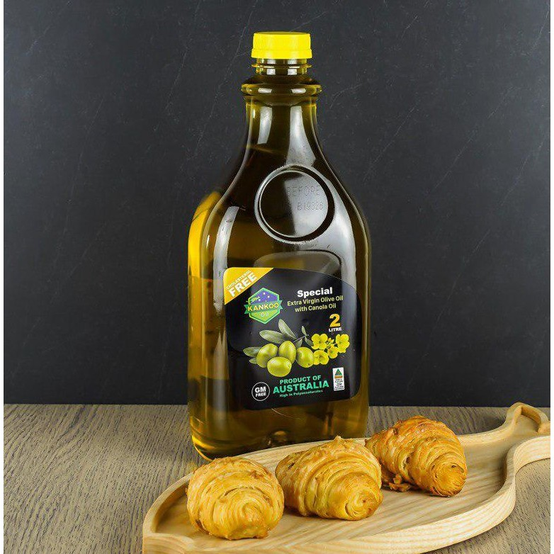 KANKOO - Dầu ăn Olive hạt cải Úc 2 Lít