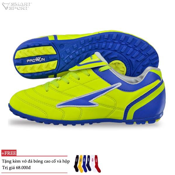 Giày đá bóng Prowin cao cấp trẻ em vàng - nhà phân phối chính từ hãng