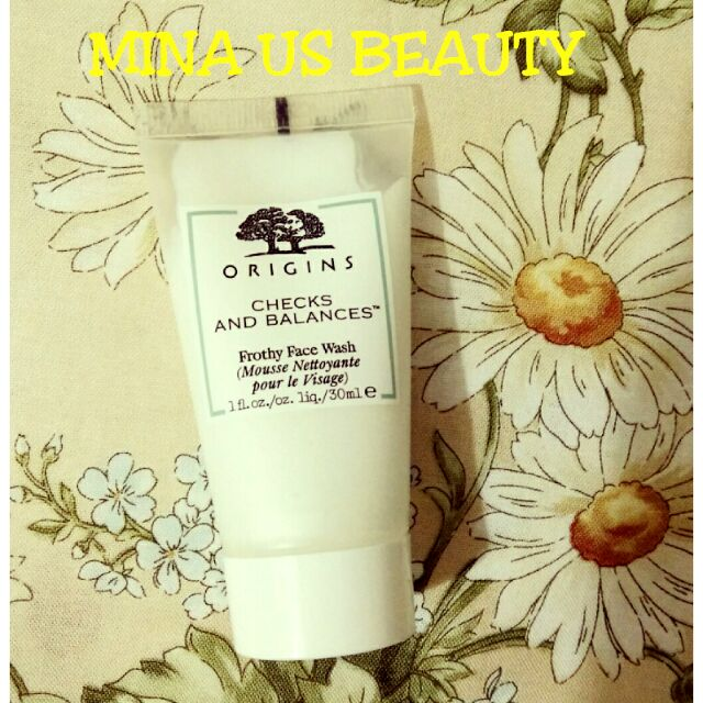[30ml] Sữa rửa mặt Origins Checks and Balances Frothy Face Wash