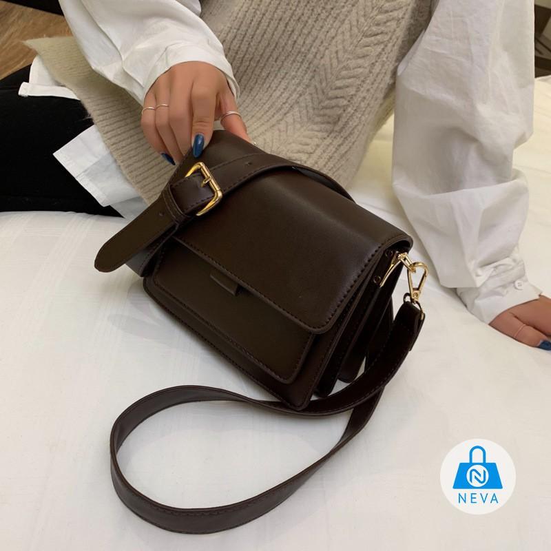 (HÀNG MỚI) Túi đeo chéo nữ chất da cực chất NEVA014