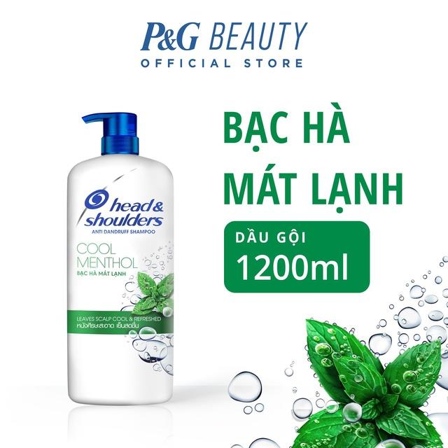 Dầu Gội Head&Shoulders chai 1200ml