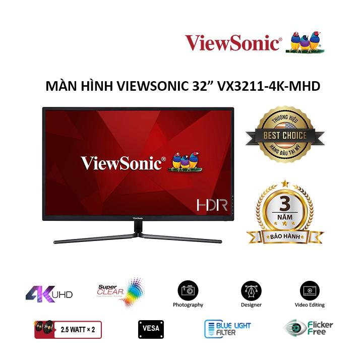 Màn hình Viewsonic VX3211-4K-MHD