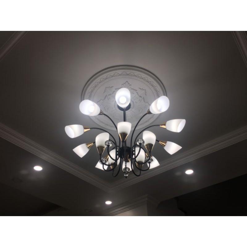 Đèn chùm - đèn chùm phòng khách - đèn thả - Đèn Chùm Thả 12tay Thắp Sáng Cao Cấp Phong Cách Châu Âu Sang Trọng_7291