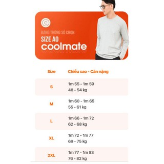 Hình ảnh [Mã APMACL2910 Giảm 20% tối đa 50k cho đơn từ 99k] Áo thun dài tay nam Cotton Compact Premium thương hiệu Coolmate-6