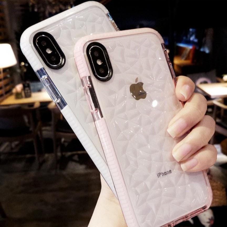 Ốp lưng mềm trong suốt bảo vệ cho IPhone 6 6s Plus 7 8 Plus X