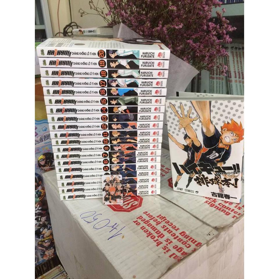 Truyện tranh Haikyu - 2652566 , 109910664 , 322_109910664 , 600000 , Truyen-tranh-Haikyu-322_109910664 , shopee.vn , Truyện tranh Haikyu