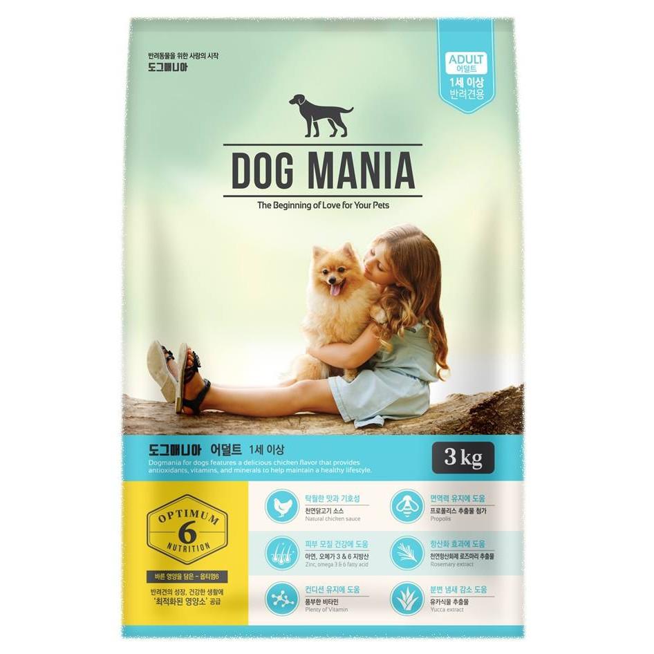 thức ăn chó DOG MANIA gói 1.5kg
