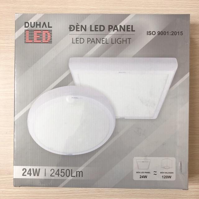 Đèn LED ốp trần 24W gắn nổi DUHAL