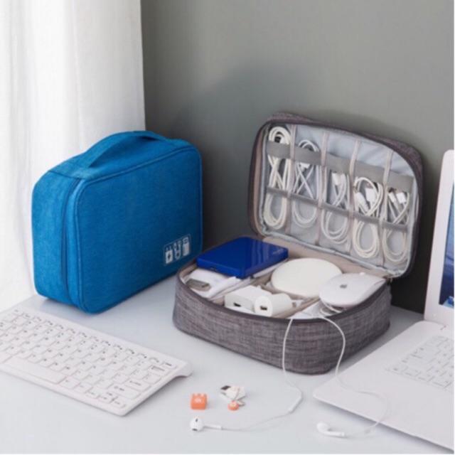 Túi đựng phụ kiện công nghệ, mỹ phẩm, đồ trang điểm chống sốc, chống nước tiện lợi đi du lịch BSY045