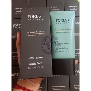 Kem chống nắng cho nam Innisfree Forest For Men No Sebum Sunblock thumbnail