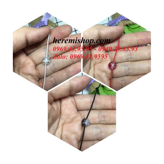 Dây co giãn dạng chun xỏ vòng tay (5m/túi)