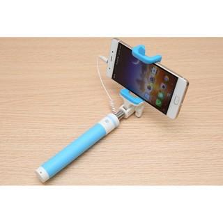 [CHỚP NHOÁNG] Gậy chụp ảnh Bluetooth Macaron M1-Xanh Dương/Đen/Xanh Lá PS
