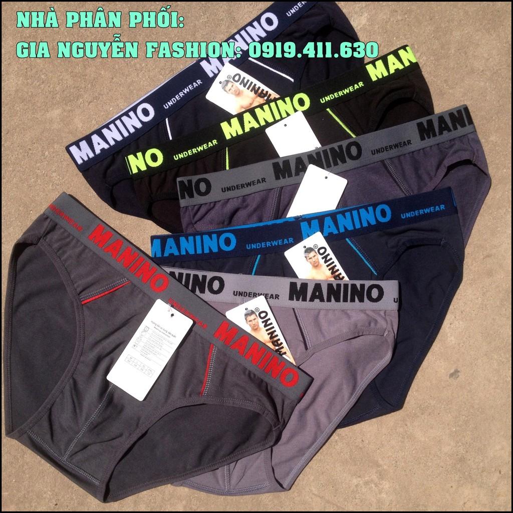 Bộ 5 quần lót nam MANINO Cao cấp - Cotton 4 Chiều
