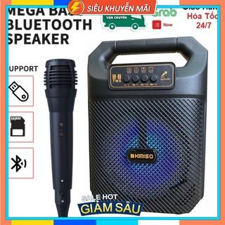 Loa Bluetooth Superbass Kimiso QS 3607 - Tặng Kèm Micro Hát Karaoke - Bảo Hành lôi 1 đổi 1 thumbnail