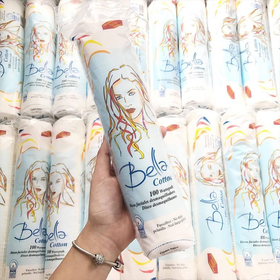 Bông tẩy trang Bella túi 100 miếng - 2455219 , 1516550 , 322_1516550 , 75000 , Bong-tay-trang-Bella-tui-100-mieng-322_1516550 , shopee.vn , Bông tẩy trang Bella túi 100 miếng
