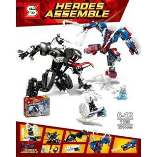 Bộ xếp hình robot nhện đại chiến Vemon SY1168