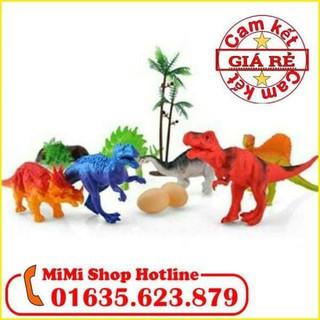 Bộ đồ chơi khủng long-hatcat