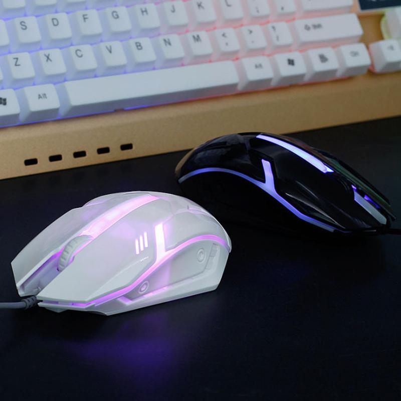 Chuột chơi game RGB phát sáng có dây chất lượng cao