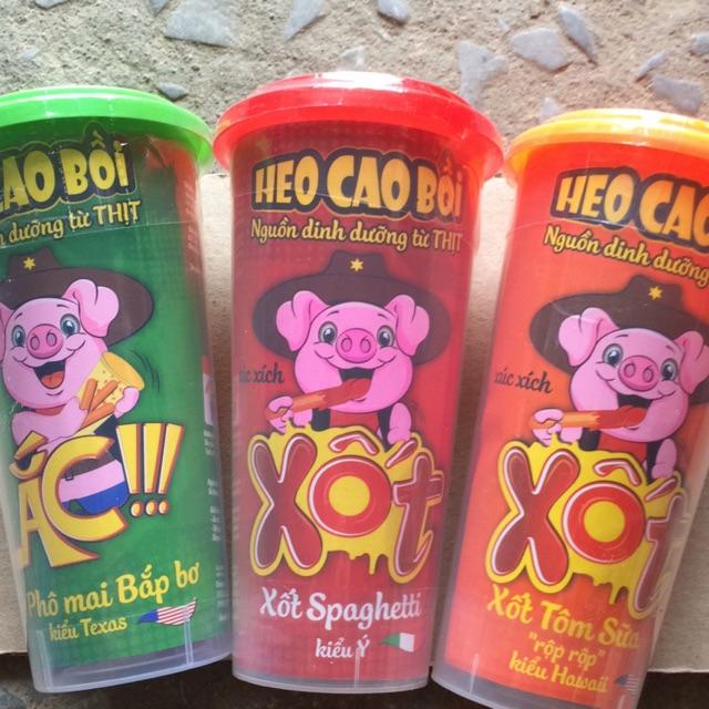 Xúc xích lắc kêu Heo Cao Bồi, hộp 78g - 3151079 , 828208452 , 322_828208452 , 9000 , Xuc-xich-lac-keu-Heo-Cao-Boi-hop-78g-322_828208452 , shopee.vn , Xúc xích lắc kêu Heo Cao Bồi, hộp 78g