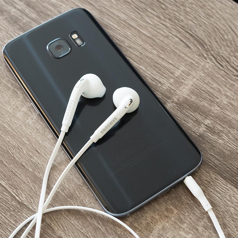 Tai Nghe Nhét Tai Jack 3.5mm Có Mic Cho Samsung Galaxy S6 / S7 / S8 Note 4 / 5 / 7