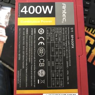 PSU, nguồn máy tính Antec BP400PX, Jetek G400 new, antec 300W, cooler master 350w, 400w, 450w thumbnail