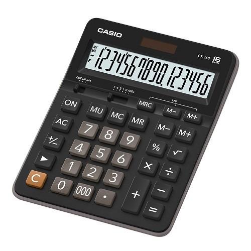 Máy tính Casio GX-16B - 3016900 , 160064995 , 322_160064995 , 499000 , May-tinh-Casio-GX-16B-322_160064995 , shopee.vn , Máy tính Casio GX-16B