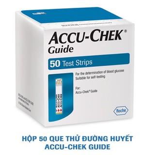 [GIAO NHANH 30p] Que thử đường huyết ACCUCHECK GUIDE (Hàng Công Ty)