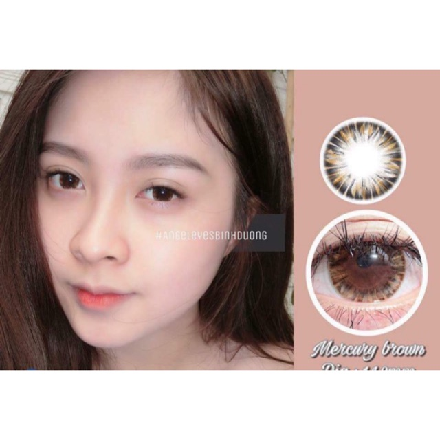 Lens Angel Eyes - Dòng Silicone Đeo 24 tiếng