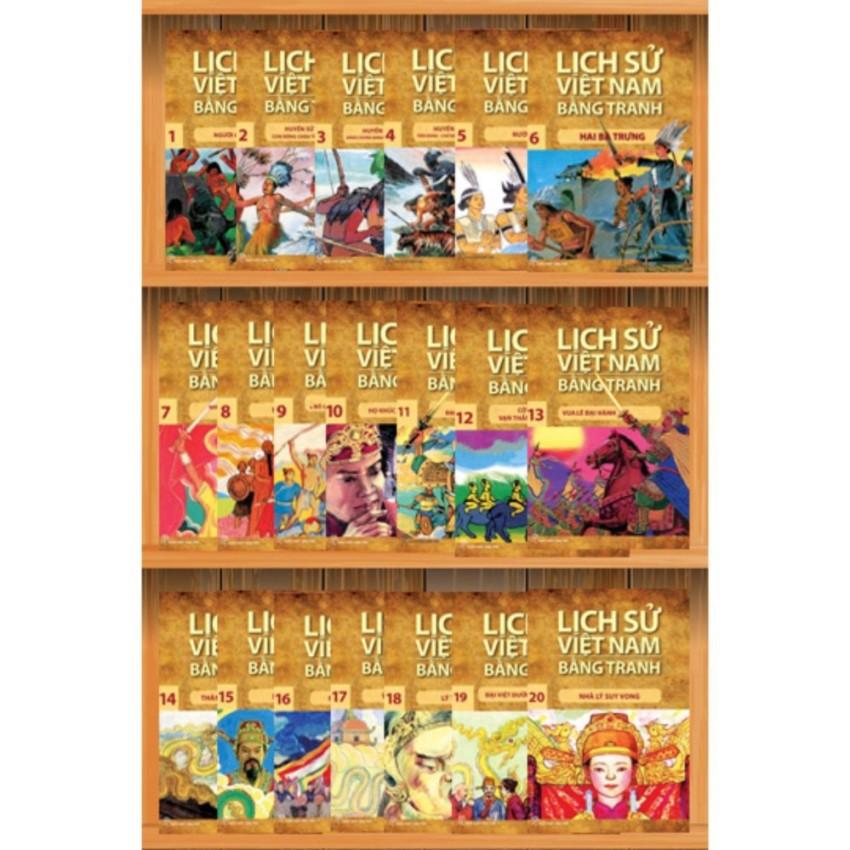 Sách: Trọn bộ 53 tập Lịch sử Việt Nam bằng tranh